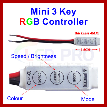 Mini 3 Key RGB Controller