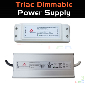 Triac LED Driver Power Supply cUL listed